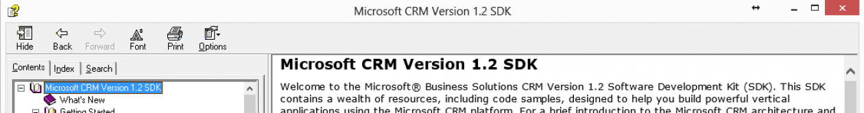 Microsoft Dynamics CRM Natives